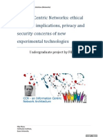Content Centric Networks - CCN - Ethical and Legal Implications, Privacy and Security Concerns by Filip Pitaru