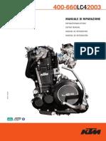 Manuale d'Officina KTM LC4