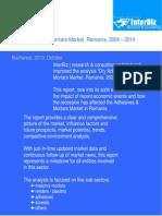 Adhesives Mortars Market 2004-2014