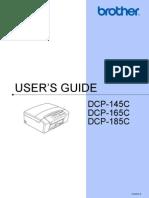 Brother Printer DCP-165C Manual
