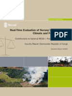 Real-Time Evaluation of NICFI - DRC Country Report