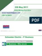 APC - Going Green With Data Centres - Arlene Nazareth