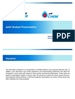 Joint Analyst Presentation Final