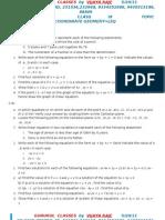 Assignment_13_class Ix Coordinate Geometry Leq