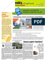 Chennai Realty Newsletter - May 02, 2011