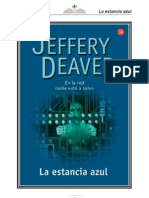 La Estancia Azul - Jeffery Deaver