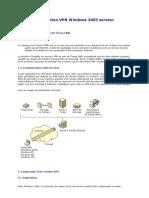 VPN Sous 2003 Server Procedure d Installation    amine