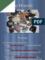 12. Minerals