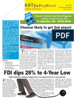 PropWatch - Weekly Real Estate Newsletter from Chennai Realty.biz, Edition 3