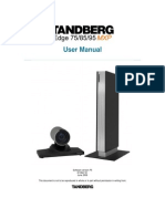 Tandberg Edge 95-85-75 Mxp User Manual (f5)