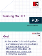 HL7 Training- Basic