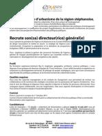 Directeur général (h/f) - St Étienne