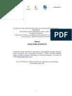 Suport Curs Detect Area de Defecte 28 Aprilie