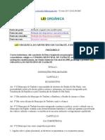 LEI ORGÂNICA - Taubaté
