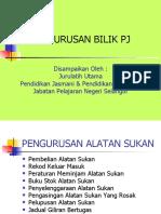 Pengurusan Bilik PJPK