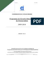 Programme de Sécurité Alimentaire de l'Océan Indien 2009-2014 (COI/ONUDI - 2008)