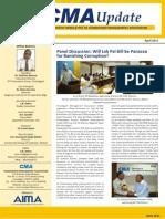 CMA eUpdate-April Issue