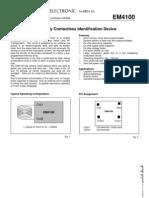 Datasheet EM4100