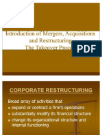 Introduction of Mergers & Acquisitions