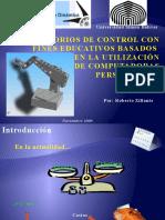 Lab Oratorios de Control Con Fines Educativos