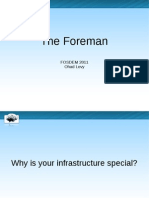 Foreman Fosdem