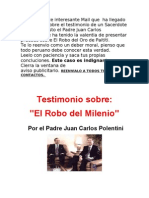 Robo Del Milenio