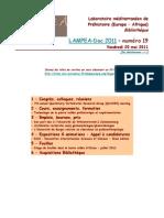 LAMPEA-Doc 2011 – numéro 19 / Vendredi 20 mai 2011