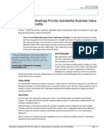 How Virtual Meetings Provide Substantial Business Value and User Benefits