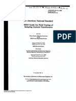 ANSI-IEEE-C57.13.1-1981