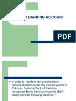 Basic Banking Account