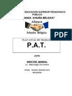 Plan Anual de Trabajo - 2010