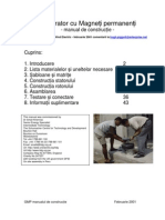 GMP Manual de Constructie