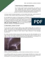 Efectos Fisiologicos de La Corriente Electrica