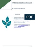 Norma GMP-B2 - Impacto das Alterações da nova versão