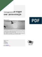 Algemenen Info Zonneenergie [ECN]