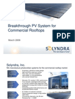 Power Point Solyndra 2009