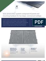 Solyndra Product Data Sheet 2008-10-06