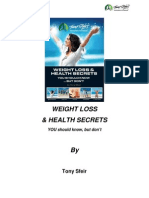 Weight Loss and Health Secrets eBook