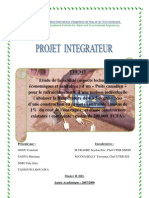 Rapport final Groupe 8 Projet Intégrateur