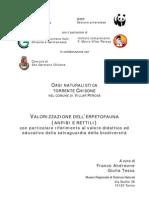 Oasi Torrente Chisone a Villar Perosa - Valorizzazione erpetofauna