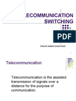 Telecomm switching
