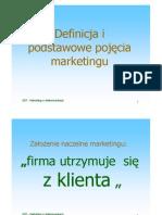 podst marketingu