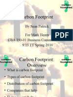 Carbon Footprint Revised)