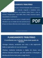 APRESENTAÇÃO PLANEJAMENTO TRIBUTÁRIO I