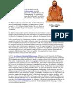 Lord Jagad Guru Sri Bharati Tirtha