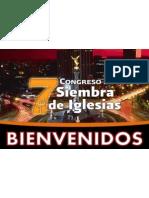 7 Congreso Siembra de Iglesias