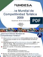 Informe Competitividad Turistica 2009 FUNDESA