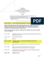 Tentative Programe AYSF 4