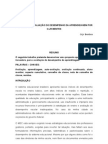 PROPOSTA DE AVALIAÇÃO DO DESEMPENHO DA PRENDIZAGEM POR OJR ARTIGO x