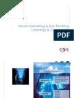 Neuro-Marketing & Eye Tracking Learnings & Companies